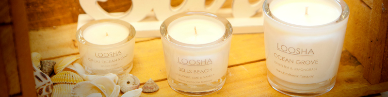 LOOSHA Surfcoast Soy Candles